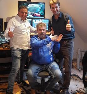 Musikstudio Netzkater - CaferSarp_Uwe Bernerd_Volker Wiedling